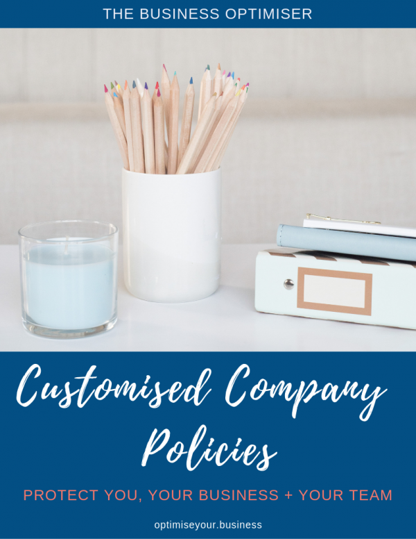 The Business Optimiser - Customised Company Policies