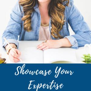 The Business Optimiser - Showcase Your Expertise