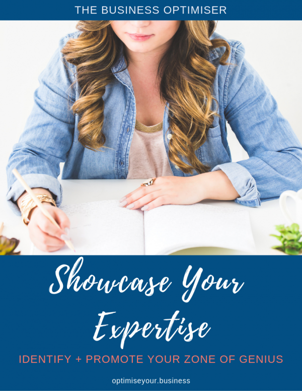 The Business Optimiser - Showcase Your Expertise
