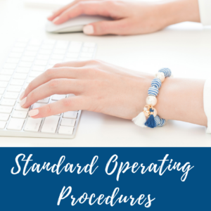 The Business Optimiser - Standard Operating Procedures Coverpage