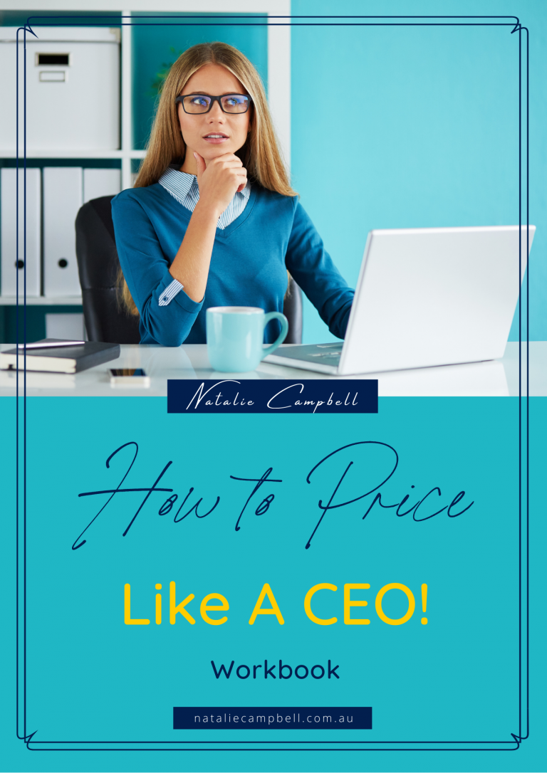 How to Price Like A CEO   Natalie Campbell